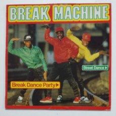 Discos de vinilo: BREAK MACHINE. – BREAK DANCE PARTY LP. TDKDA64. Lote 176429347