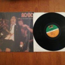 Discos de vinilo: VINILO EDICIÓN ALEMANA DEL LP DE AC DC IF YOU WANT BLOOD. Lote 176432757