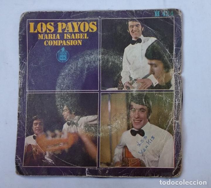 LOS PAYOS.- MARIA ISABEL - COMPASION. SINGLE. TDKDS16 (Música - Discos - Singles Vinilo - Grupos Españoles 50 y 60)