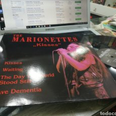 Discos de vinilo: THE MARIONETTES MAXI KISSES 1992. Lote 176440668