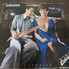 Discos de vinilo: VINILO SCORPIONS LP LOVEDRIVE ROCK ALEMAN 1979. Lote 176441689