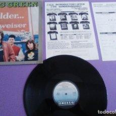Disques de vinyle: JOYA LP MUY RARO. GANG GREEN / OLDER... BUDWEISER - 1989 ROADRUNNER. RECORDS LV 9321.. Lote 176455332