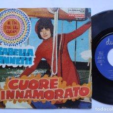 Discos de vinilo: ISABELLA IANNETTI - 45 SPAIN PS - IL TIC TAC DEL CUORE / CUORE INNAMORATO. Lote 176473214