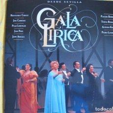 Discos de vinilo: LP - GALA LIRICA - DESDE SEVILLA (VARIOS, VER FOTO ADJUNTA, DOBLE DISCO, RCA 1991). Lote 176479614