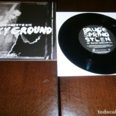 Discos de vinilo: BRUCE SPRINGSTEEN - SINGLE - ROCKY GROUND - RECORD STORE DAY - WRECKING BALL. Lote 176487690