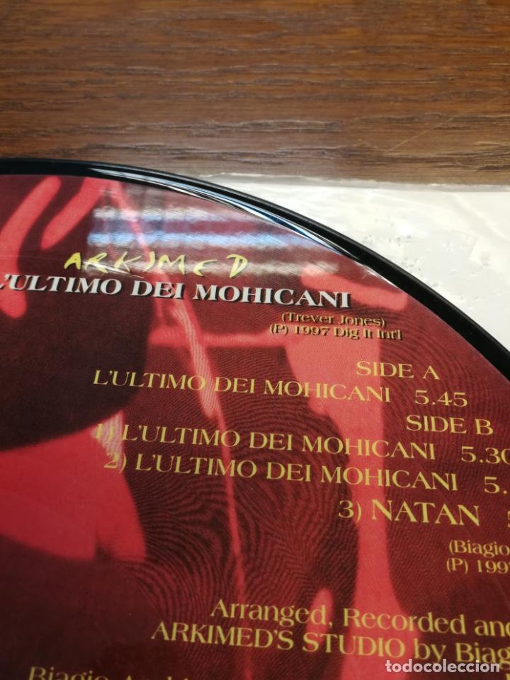 Discos de vinilo: Picture Disc-Arkimed - Lultimo Dei Mohicani (El ultimo Mohicano Makina La ruta del Bakalao, año 97) - Foto 5 - 176488043