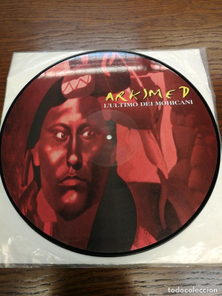 PICTURE DISC-ARKIMED - L'ULTIMO DEI MOHICANI (EL ULTIMO MOHICANO MAKINA LA RUTA DEL BAKALAO, AÑO 97) (Música - Discos de Vinilo - Maxi Singles - Disco y Dance)