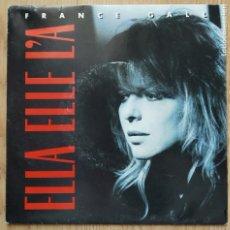 Discos de vinilo: FRANCE GALL - ELLA ELLE L'A - SINGLE SPAIN 1987. Lote 176495754