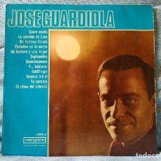 Discos de vinilo: JOSE GUARDIOLA - LP MUY RARO DE VINILO ORIGINAL DE 1967 EN VERGARA. Lote 176500297