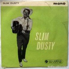 Discos de vinilo: SLIM DUSTY. THE PUB ROCK/ AUSSIE DOG HOUSE BLUES/ WALTZING MATILDA/ NO GOOD BABY. COLUMBIA, NZ 1961 . Lote 176506750