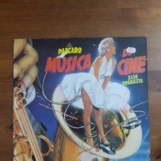 Discos de vinilo: ALDO PASCARO MÚSICA DE CINE SAXO ORQUESTA. Lote 176516497