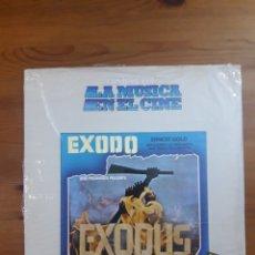 Discos de vinilo: ÉXODO (EXODUS) HISTORIA DE LA MÚSICA EN EL CINE 38. Lote 176517057