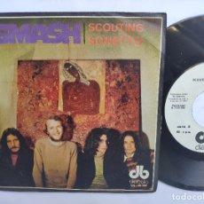 Discos de vinilo: SMASH - 45 SPAIN PS - MINT * SCOUTING / SONETTO - DIABOLO 1969. Lote 176520610