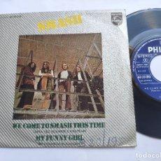 Discos de vinilo: SMASH - 45 SPAIN PS - EX+ * WE COME TO SMASH THIS TIME * PHILIPS 1971. Lote 176520647