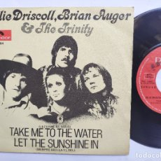 Discos de vinilo: JULIE DRISCOLL, BRIAN AUGER & THE TRINITY - 45 SPAIN PS - EX * LET THE SUNSHINE IN . Lote 176520764