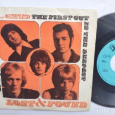 Discos de vinilo: LOST & FOUND - 45 SPAIN PS - EX * THE FIRST CUT IS THE DEEPEST / NO, NO, NO, NO. Lote 176520810