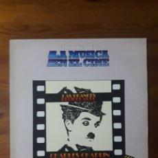 Discos de vinilo: LAS GRANDES PELÍCULAS DE CHARLES CHAPLIN HISTORIA DE LA MÚSICA EN EL CINE 48. Lote 176523018