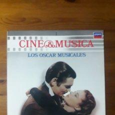Discos de vinilo: LOS OSCAR MUSICALES, CINE Y MÚSICA SALVAT 1. Lote 176523250