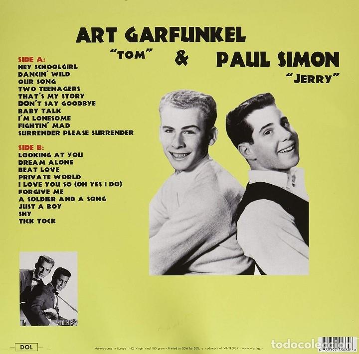 Discos de vinilo: Paul Simon & Art Garfunkel As Tom & Jerry * Singles And R * LP 180g HQ Heavyweight * Precintado!! - Foto 2 - 176524322