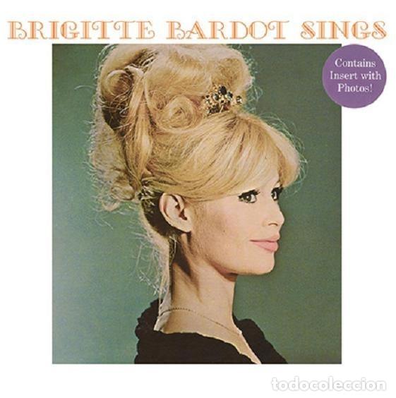 BRIGITTE BARDOT * LP 140G HQ HEAVYWEIGHT * SINGS * CONTIENE INSERTO CON FOTOS * PRECINTADO!! (Música - Discos - LP Vinilo - Jazz, Jazz-Rock, Blues y R&B)