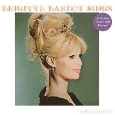 Discos de vinilo: BRIGITTE BARDOT * LP 140G HQ HEAVYWEIGHT * SINGS * CONTIENE INSERTO CON FOTOS * PRECINTADO!!. Lote 176524328