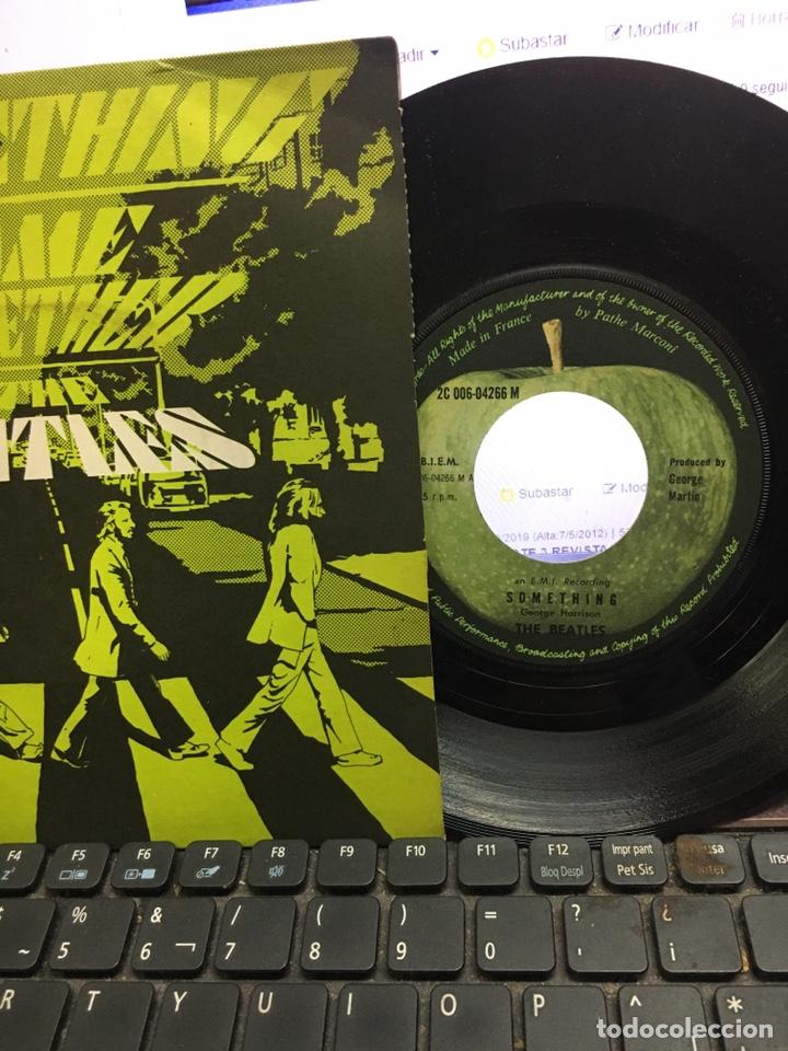 Discos de vinilo: The Beatles -Something /come Together - Foto 2 - 176532397