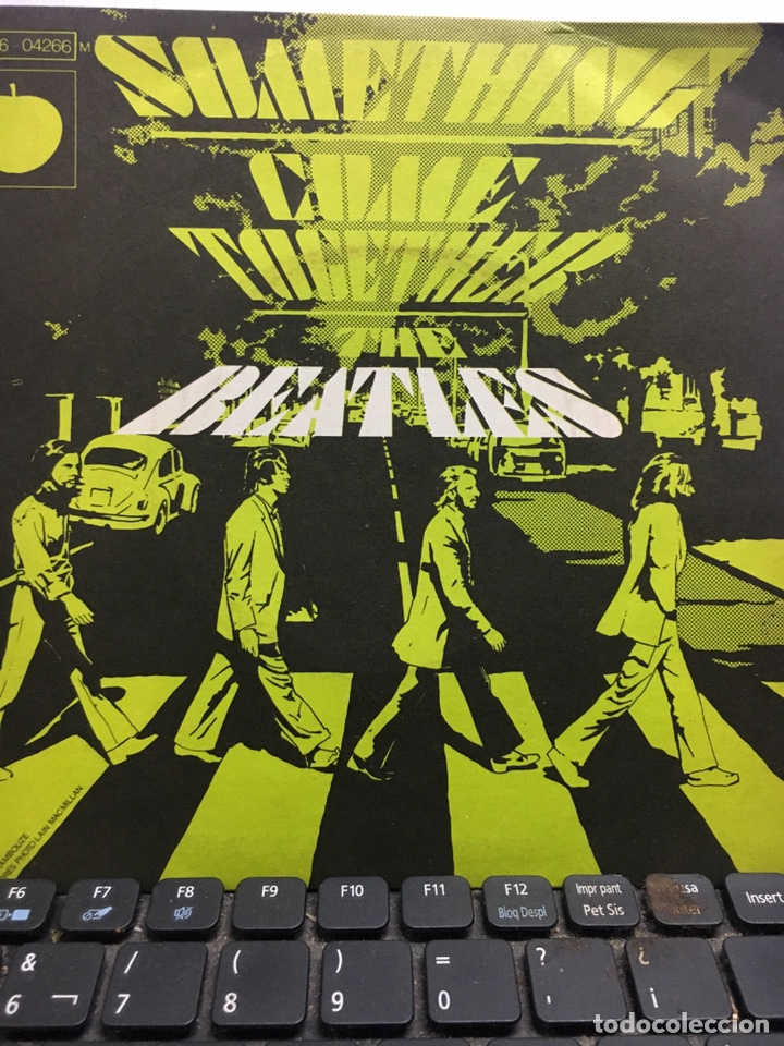 THE BEATLES -SOMETHING /COME TOGETHER (Música - Discos de Vinilo - EPs - Rock & Roll)