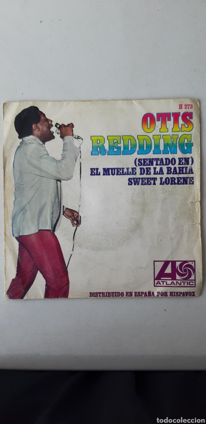Discos de vinilo: OTIS REDDING. SENTADO EN EL MUELLE DE LA BAHIA. SWEET LORENE - Foto 2 - 176544017