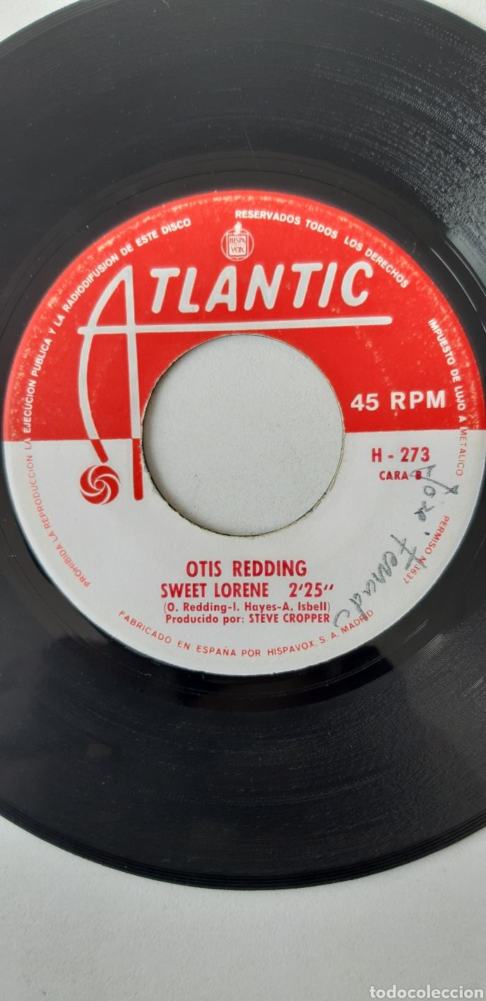 Discos de vinilo: OTIS REDDING. SENTADO EN EL MUELLE DE LA BAHIA. SWEET LORENE - Foto 3 - 176544017
