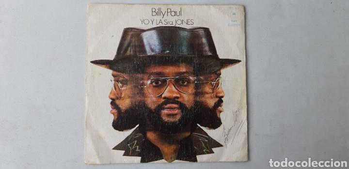 BILLY PAUL. YO Y LA SRA. JONES. TU CANCIÓN. SINGLE. (Música - Discos - Singles Vinilo - Jazz, Jazz-Rock, Blues y R&B)