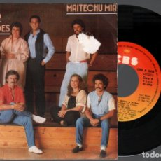 Discos de vinilo: MOCEDADES - PLACIDO DOMINGO - MAITECHU MIA / SINGLE CBS DE 1983 RF-4126. Lote 235564730