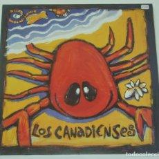Discos de vinilo: LOS CANADIENSES - S/T - SUBTERFUGE RECORDS. Lote 176550183