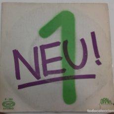 Discos de vinilo: NEU ! - HALLOGALLO PARTE 1 Y 2 SG PROMO ED. ESPAÑOLA 1973. Lote 176550652