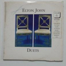 Discos de vinilo: ELTON JOHN - DUETS - DOBLE LP. TDKLP. Lote 176552279