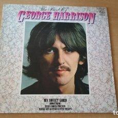 Discos de vinilo: LP GEORGE HARRISON THE BEST OF EMI MFP ENGLAND. Lote 176552970