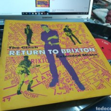 Discos de vinilo: THE CLASH MAXI RETURN TO BRIXTON U.K. 1990. Lote 176557690