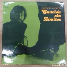 Dischi in vinile: PATRICIO MANNS - CANCION SIN LIMITES LP GATEFOLD ED. ESPAÑOLA 1977. Lote 176558727