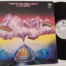 Discos de vinilo: MAGIC CARPET- LOVE ON THE MAGIC CARPET- SPAIN PROMO LP- IMPECABLE- NUEVO.. Lote 176560182