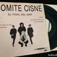 Disques de vinyle: MINI LP DISCO VINIO COMITE CISNE EL FINAL DEL MAR DE 1987. Lote 176562143