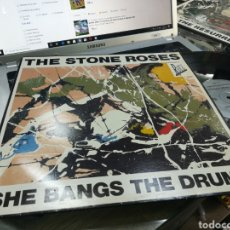 Discos de vinilo: THE STONE ROSES MAXI SHE BANGS THE DRUMS 1989. Lote 176571822