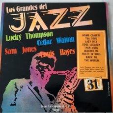 Discos de vinilo: LOS GRANDES DEL JAZZ.. Lote 176575494