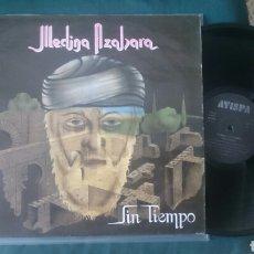 Discos de vinilo: MEDINA AZAHARA LP SIN TIEMPO 1992 TODO TIENE SU FIN HEAVY. Lote 176579959