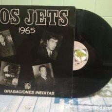 Discos de vinilo: LOS JETS - 1965 GRABACIONES INEDITAS. Nº 15 LP SPAIN 1985 PEPETO TOP. Lote 176587568