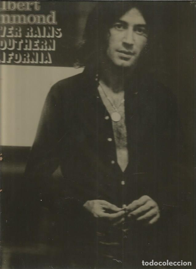 ALBERT HAMMOND NEVER RAINS (Música - Discos - LP Vinilo - Pop - Rock - Extranjero de los 70)