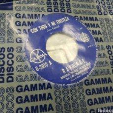 Discos de vinilo: RAPHAEL SINGLE CON TODO Y MI TRISTEZA MÉXICO 1978. Lote 176593624