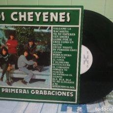 Discos de vinilo: LOS CHEYENES SUS PRIMERAS GRABACIONES LP SPAIN 1980 PEPETO TOP . Lote 176598299