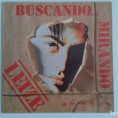 Discos de vinilo: LEIZE - BUSCANDO ... MIRANDO LP 1989. Lote 176602792
