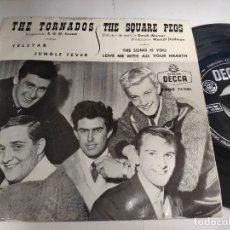 Discos de vinilo: THE TORNADOS / THE SQUARE PEGS - EP SPAIN PS - VINILO EX+ * TELSTAR / JUNGLE FEVER * DECCA 1962. Lote 176603578