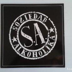 Disques de vinyle: SOZIEDAD ALKOHOLIKA - SOZIEDAD ALKOHOLIKA LP 1991. Lote 176605013