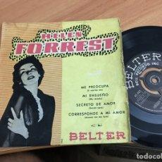 Dischi in vinile: HELEN FORREST (ME PREOCUPA +3) EP ESPAÑA CON TRICENTRE (EPI15). Lote 176605067
